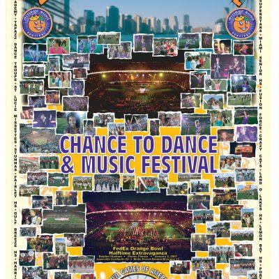 2007 Orange Bowl Poster