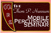thom p hannum mobile percussion seminar